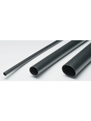 ACS - AMWA-55/16 - Heat-shrink tubing black 55 mmx1.2 m, AMWA-55/16, ACS