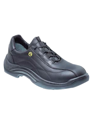 - ESD AL 106-47 - ESD safety half-shoes Size=47 black Pair, ESD AL 106-47