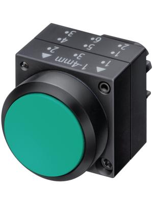 Siemens - 3SB3000-0AA11 - Pushbutton actuator Plastic,black, 3SB3000-0AA11, Siemens