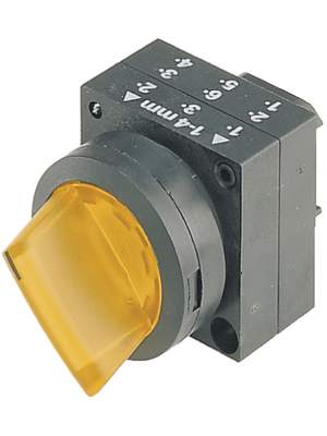 Siemens - 3SB3001-2KA31 - Illuminable Selector Switch 0 - I, Plastic,yellow, 3SB3001-2KA31, Siemens