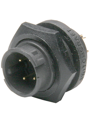 Switchcraft - EN3P2M - Device connector EN3, 2-pin Poles 2, EN3P2M, Switchcraft