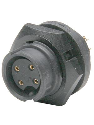 Switchcraft - EN3P2F - Device bushing EN3, 2-pin Poles 2, EN3P2F, Switchcraft