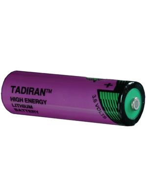 Tadiran Batteries - SL-360/S - Lithium battery 3.6 V 2400 mAh, AA, SL-360/S, Tadiran Batteries