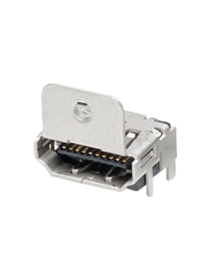 TE Connectivity - 1-1747981-1 - HDMI connector SMD with flange 19 N/A, 1-1747981-1, TE Connectivity