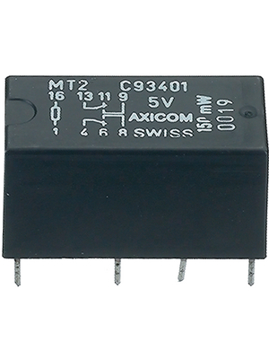 TE Connectivity - 1462000-1 - Signal relay 5 VDC 168 Ohm 150 mW THD, 1462000-1, TE Connectivity