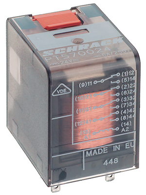 TE Connectivity - 8-1415001-1 - Industrial relay 230 VAC 19465 Ohm 1 VA, 8-1415001-1, TE Connectivity
