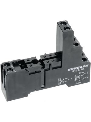 TE Connectivity - 6-1415035-1 - Relay socket 2-pole, 6-1415035-1, TE Connectivity