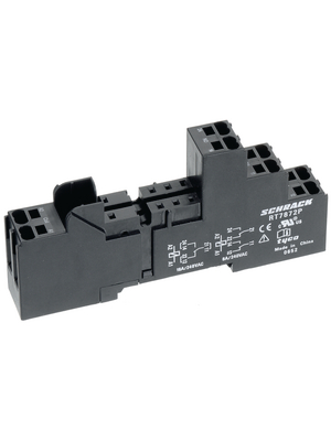 TE Connectivity - 1860200-1 - Relay socket 2-pole, 1860200-1, TE Connectivity