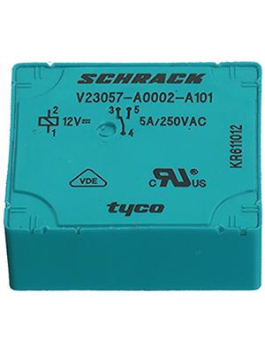 TE Connectivity - 1393215-4 - PCB power relay 12 VDC 500 mW, 1393215-4, TE Connectivity