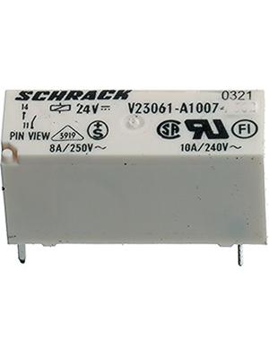 TE Connectivity - 2-1393222-3 - PCB power relay 12 VDC 220 mW, 2-1393222-3, TE Connectivity