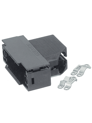 TE Connectivity - V42254-A6000-K150 - D-Sub plastic hood 50P, V42254-A6000-K150, TE Connectivity