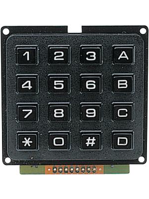 雅阁 - AK-1604 164-1-2 - 16键键盘,AK-1604 164-1-2,雅阁