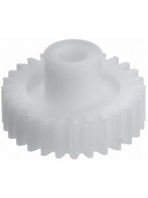 - 1040031 - Spur wheel module, 0.5 polyamide, 1040031