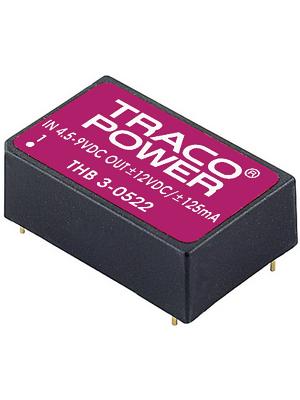 Traco Power - THB 3-4812 - DC/DC converter 36...75 VDC 12 VDC, THB 3-4812, Traco Power