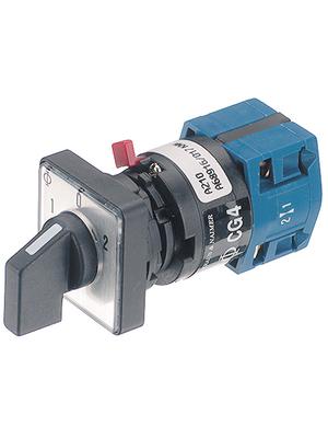Kraus & Naimer - CG4 A221-600FS2 - Rotary switch Poles2, CG4 A221-600FS2, Kraus & Naimer