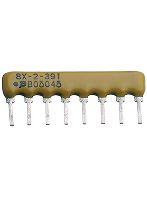 Bourns - 4608X-102-103LF - Resistor network SIL 10 kOhm  ±  2 %, 4608X-102-103LF, Bourns