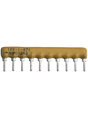 Bourns - 4610X-101-123LF - Resistor network SIL 12 kOhm  ±  2 %, 4610X-101-123LF, Bourns