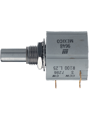 BI Technologies - 7286 R1K L.25 - Potentiometer 1 kOhm linear  ±  5 %, 7286 R1K L.25, BI Technologies