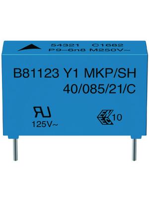 EPCOS - B81123-C1562-M - Y capacitor 5.6 nF 500 VAC, B81123-C1562-M, EPCOS