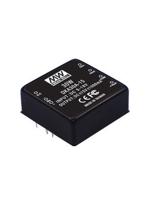 Mean Well - DKA30B-12 - DC/DC converter 18...36 VDC 12 VDC, DKA30B-12, Mean Well