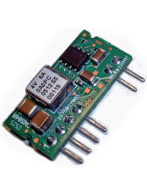 Delta-Electronics - DNS04S0A0R06NFD - DC/DC converter 0.75...5 VDC 6 A, DNS04S0A0R06NFD, Delta-Electronics