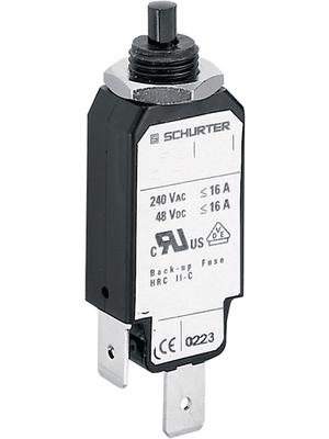 Schurter - 4400.0052 - Circuit-breaker, thermal 12 A, 4400.0052, Schurter