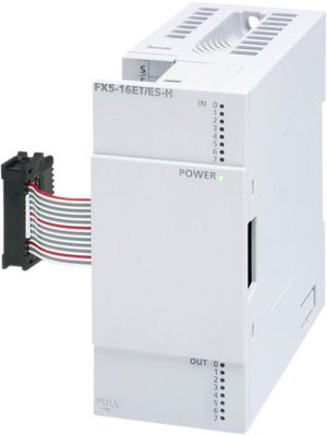 Mitsubishi Electric - FX5-16ET/ESS-H - FX5 High-speed I/O Module, 8 TO, FX5-16ET/ESS-H, Mitsubishi Electric