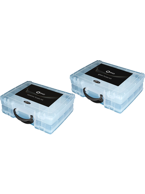 RND Components - RND 170-00078 + RND 170-000179 - Ceramic and Glass Fuse kit fast/slow-blow 354 pcs, 5x20 mm, RND 170-00078 + RND 170-000179, RND Components