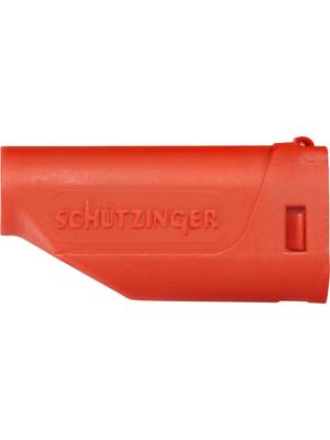 Schützinger - GRIFF 15 / 1 / RT /-1 - Insulator ? 4 mm red, GRIFF 15 / 1 / RT /-1, Schützinger