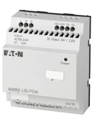 Eaton - EASY430-POW - Switching power supply unit 115/230 VAC -> 24 VDC, 1.25 A, EASY430-POW, Eaton