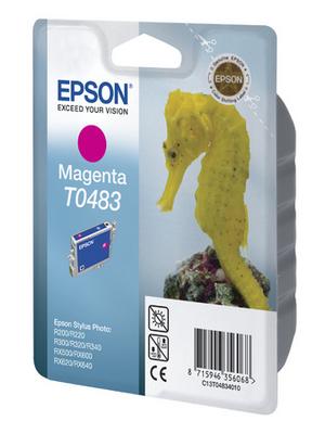 Epson - C13T04834010 - Ink T0483 magenta, C13T04834010, Epson