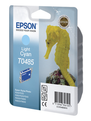 Epson - C13T04854010 - Ink T0485 light cyan, C13T04854010, Epson