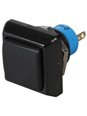 Apem - IPC1SAD2 - Push-button Switch on-off black, IPC1SAD2, Apem