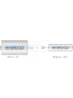 Panasonic - ENELOOP AA-D-2 - Battery adapter, ENELOOP AA-D-2, Panasonic