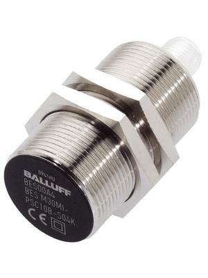 Balluff - BES M30MI-PSC10B-S04K - Inductive sensor 10 mm PNP, make contact (NO) Plug M12, 4-Pin 10...30 VDC -25...+70 °C, BES M30MI-PSC10B-S04K, Balluff