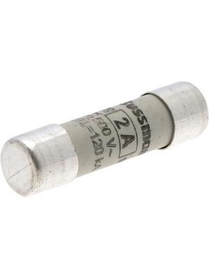 Eaton - C10G2 - Fuse10 x 38 mm,500 VAC,2 A 2 A Fast-blow Bussmann, C10G2, Eaton