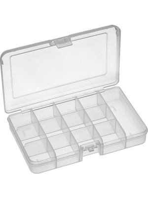 RND Lab - RND 550-00101 - Assortment Box, 13, transparent 165 x 112 x 31 mm, Polypropylene, RND 550-00101, RND Lab