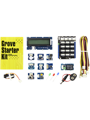 Seeed Studio - 110060024 - Grove Starter Kit for Arduino, Arduino, Raspberry Pi, BeagleBone, Edison, LaunchPad, Mbed, Galiel, 110060024, Seeed Studio