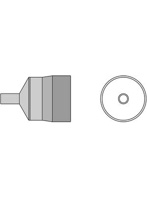 Weller - TNR 40 - Hot air nozzle TNR, 4.0 mm, T0058768743, TNR 40, Weller