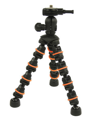 Camlink - CL-RIG60 - Camera Stand Mini-Tripod black-orange, CL-RIG60, Camlink