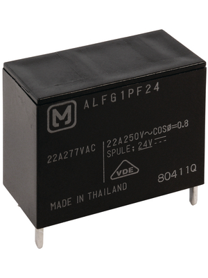 Panasonic - ALFG1PF18 - PCB power relay 18 VDC 1400 mW, ALFG1PF18, Panasonic