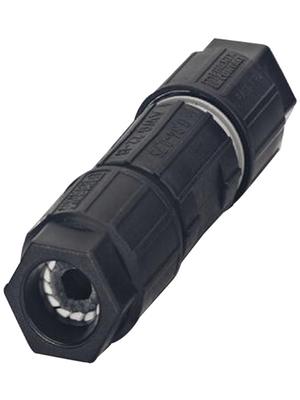 Phoenix Contact - Q 0,75/4IDC/18-18KU-KU BK - Conductor connector 0.75 mm2 Poles 4, Q 0,75/4IDC/18-18KU-KU BK, Phoenix Contact