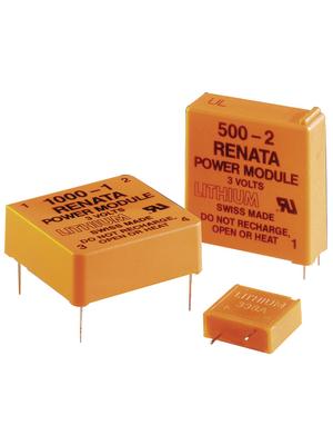 Renata - 1000-1B - Button cell battery 3 V 950 mAh, 1000-1B, Renata