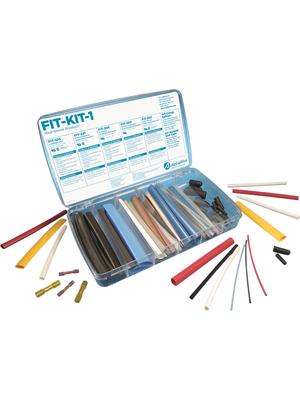 Alpha Wire - FKIT2 NC032 - Heat-shrink tubing, assortment Various 2:1, FKIT2 NC032, Alpha Wire