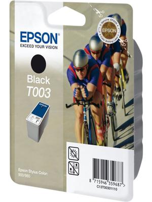 Epson - C13T00301110 - Ink T003 black, C13T00301110, Epson