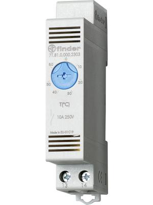 Finder - 7T.81.0.000.2303 - Thermostat +0...+60 °C 1 NO, 7T.81.0.000.2303, Finder