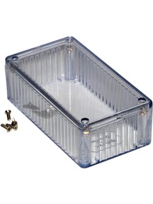 Hammond - 1591CTCL - Plastic enclosure clear 65 x 36 mm ABS plastic, 1591CTCL, Hammond