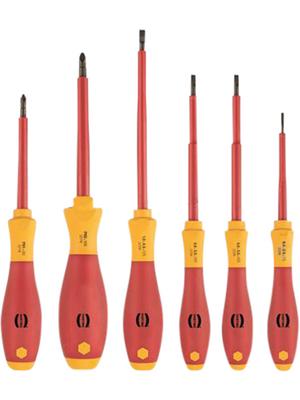 HARTING - 09990000836 - Screwdriver set VDE 6 p., 09990000836, HARTING