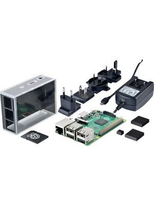 Raspberry Pi - Raspberry Pi 3 Model B Bundle - Raspberry Pi 3 Model B, 1200 MHz, ARM Cortex-A53, quad-core, Raspberry Pi 3 Model B Bundle, Raspberry Pi