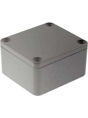 RND Components - RND 455-00391 - Metal enclosure, light grey, 58 x 64 x 35 mm, Aluminium, IP 65, RND 455-00391, RND Components